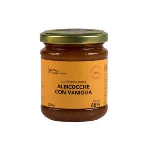 albicocche con vaniglia